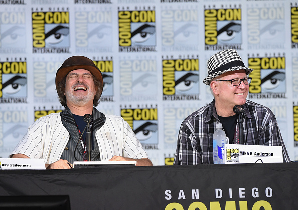 "David Silverman「Comic-Con International 2017 - ""The Simpsons"" Panel」:写真・画像(1)[壁紙.com]"