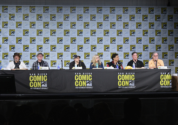 "David Silverman「Comic-Con International 2017 - ""The Simpsons"" Panel」:写真・画像(15)[壁紙.com]"