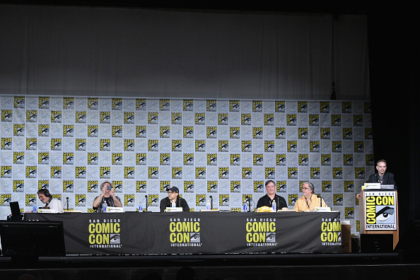 "David Silverman「Comic-Con International 2017 - ""The Simpsons"" Panel」:写真・画像(13)[壁紙.com]"