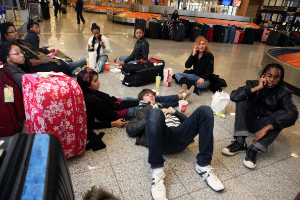 Hartsfield-Jackson Atlanta International Airport「U.S. South Hit By Crippling Winter Storm」:写真・画像(11)[壁紙.com]