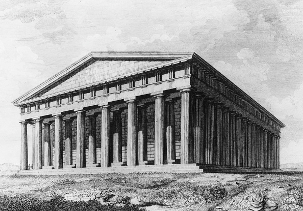 Architectural Column「Parthenon」:写真・画像(4)[壁紙.com]