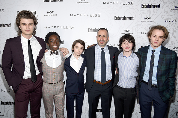 Noah Schnapp「Entertainment Weekly Celebrates SAG Award Nominees at Chateau Marmont sponsored by Maybelline New York - Arrivals」:写真・画像(6)[壁紙.com]