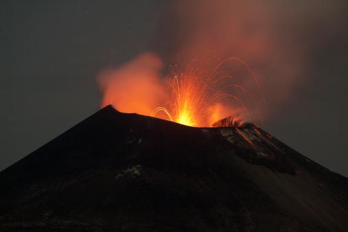 Volcano「Krakatoa volcano eruption, November 2011」:スマホ壁紙(16)