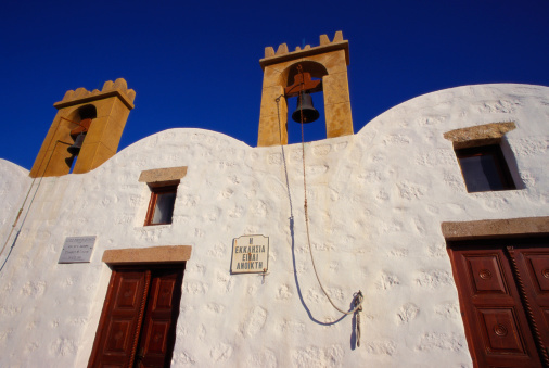 パトモス島「Medieval Monastery of Agios Panteleimon, Patmos, Dodecanese Islands, Greece」:スマホ壁紙(9)