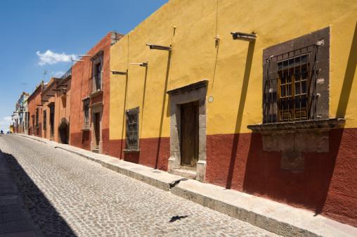 Indigenous Culture「Mexican Street, San Miguel de Allende」:スマホ壁紙(7)