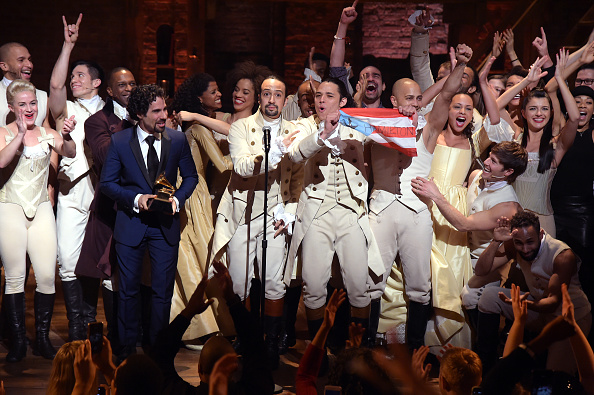 音楽「The 58th GRAMMY Awards - 'Hamilton' GRAMMY Performance」:写真・画像(2)[壁紙.com]