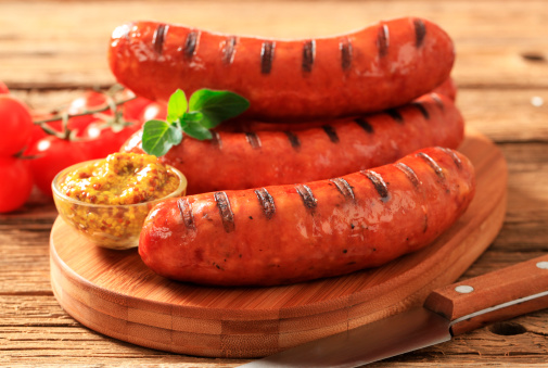 Cutting Board「Grilled sausages」:スマホ壁紙(6)