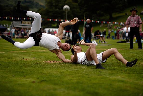 趣味・暮らし「Enthusiasts Participate In Traditional Westmorland Wrestling」:写真・画像(12)[壁紙.com]