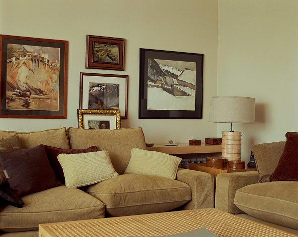 Cozy「View of an eclectic living room」:写真・画像(12)[壁紙.com]