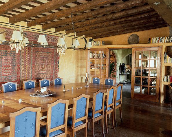 Dining Room「View of an exquisite dining room」:写真・画像(3)[壁紙.com]
