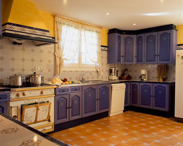Ceiling「View of an eclectic kitchen」:写真・画像(9)[壁紙.com]