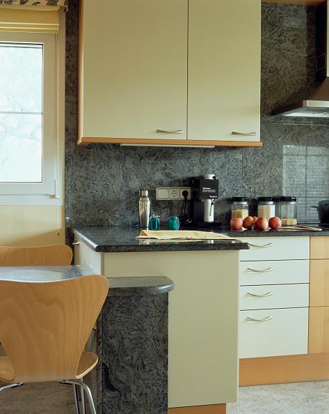 Kitchen「View of an elegant kitchen」:写真・画像(5)[壁紙.com]