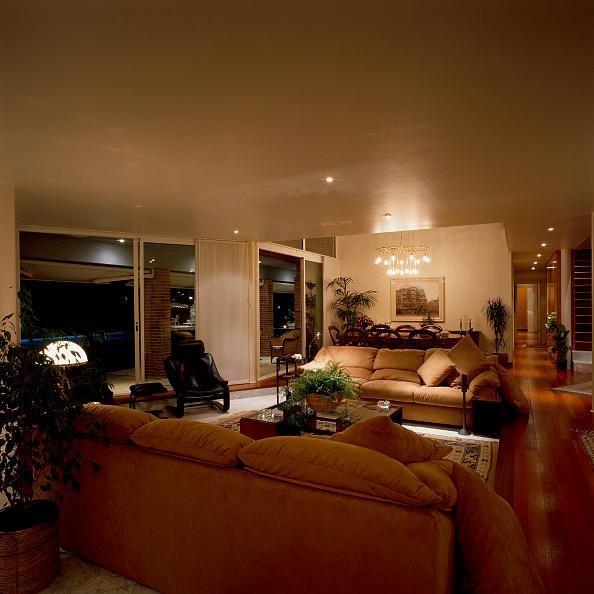 Living Room「View of an illuminated living room」:写真・画像(17)[壁紙.com]