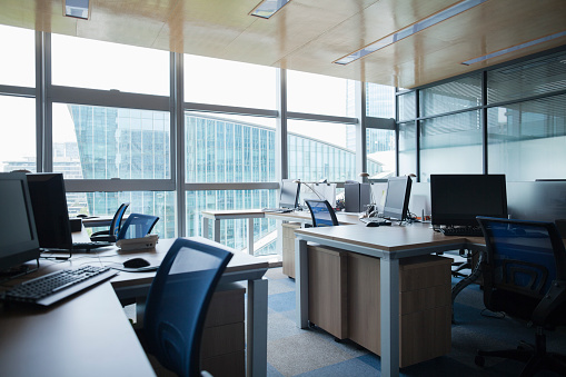 Place of Work「View of an Empty Office」:スマホ壁紙(16)