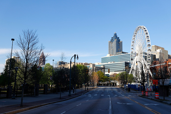 Atlanta - Georgia「Coronavirus Pandemic Causes Climate Of Anxiety And Changing Routines In America」:写真・画像(0)[壁紙.com]