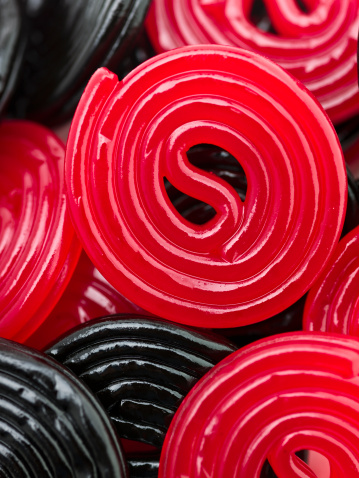 Swirl Pattern「Liquorice Candy」:スマホ壁紙(9)