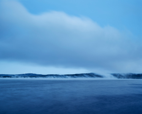 Dalarna「Morning fog over lake」:スマホ壁紙(7)