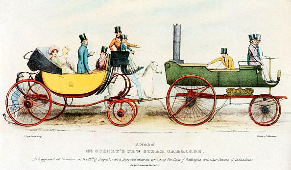 Land Vehicle「Gurney's steam carriage, England 1829」:写真・画像(12)[壁紙.com]