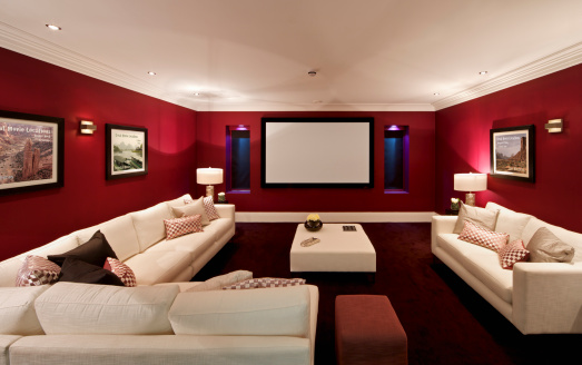 Architectural Cornice「fabulous cinema room」:スマホ壁紙(12)