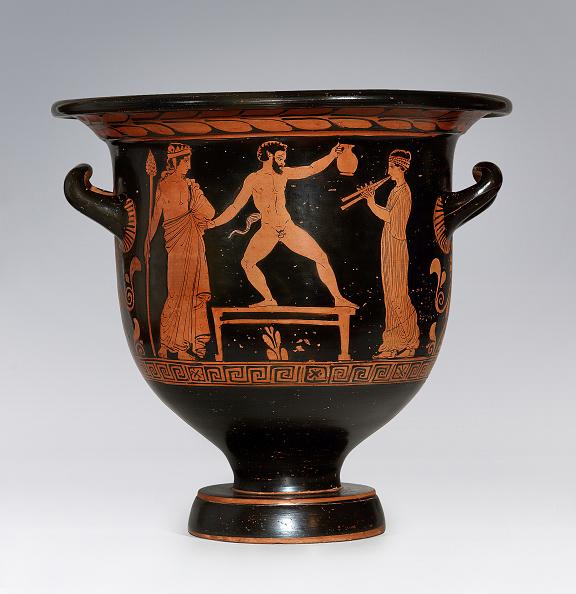 Red-Figure Ceramics「Satyr Dancing (Apulian Krater)」:写真・画像(9)[壁紙.com]