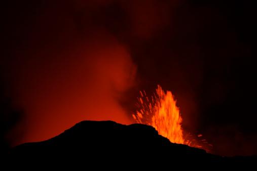Goma「Nyamulagira volcano eruption」:スマホ壁紙(1)