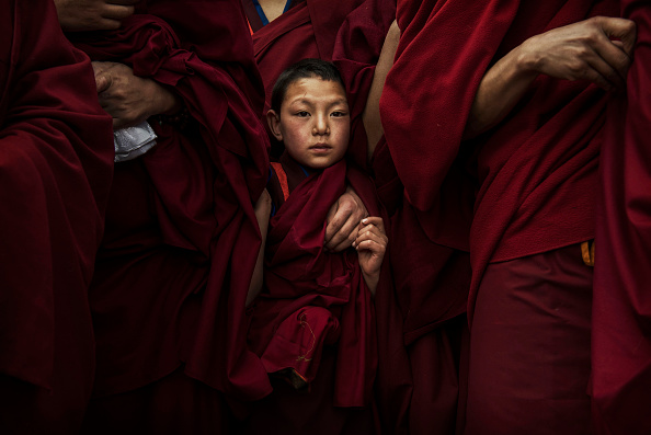 Monk - Religious Occupation「Tibetans Mark The Great Prayer」:写真・画像(3)[壁紙.com]