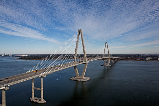 Charleston - South Carolina「Ravenell Bridge」:スマホ壁紙(18)