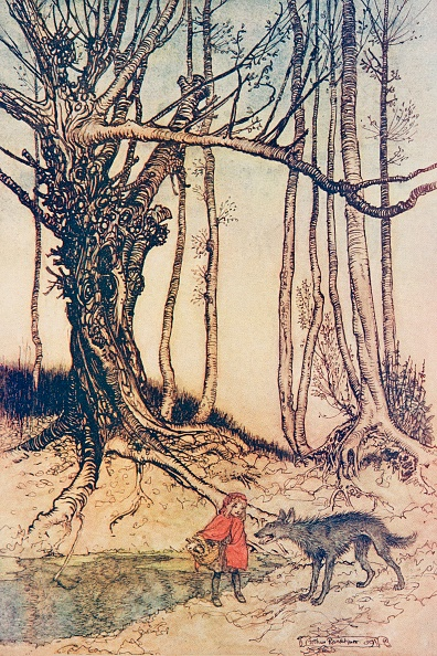 Picture Book「Little Red Riding Hood」:写真・画像(7)[壁紙.com]