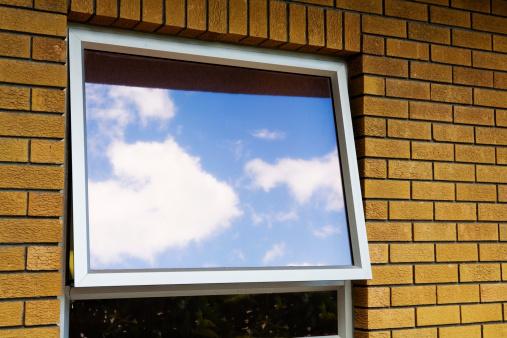 Hope - Concept「Window reflecting sky」:スマホ壁紙(18)