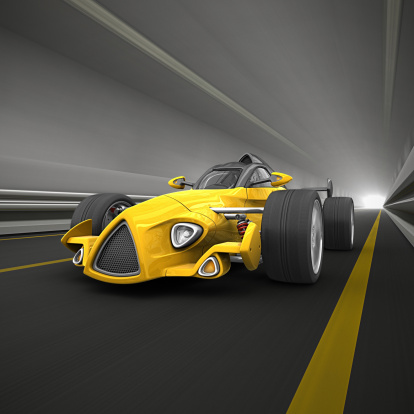 Hot Rod Car「race car in tunnel」:スマホ壁紙(8)