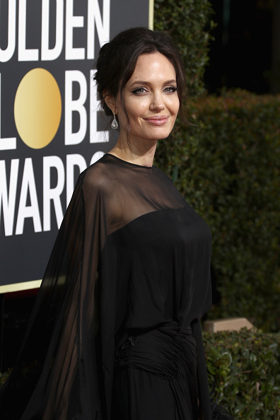 アンジェリーナ・ジョリー「75th Annual Golden Globe Awards - Arrivals」:写真・画像(6)[壁紙.com]
