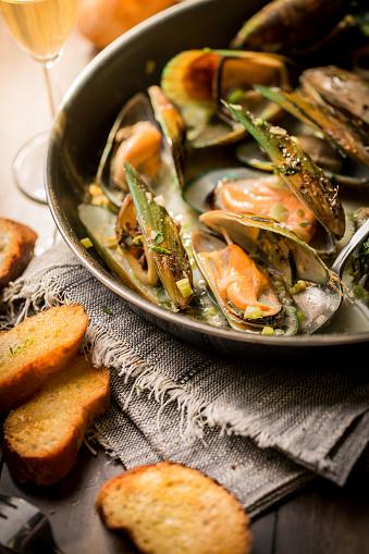 はまぐり料理「新鮮な牡蠣 soupe」:スマホ壁紙(19)
