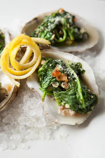 スタジオ撮影「Fresh oyster meal」:スマホ壁紙(15)
