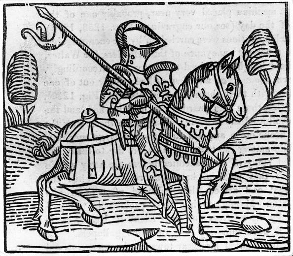 Circa 14th Century「Illustrated Knight」:写真・画像(0)[壁紙.com]