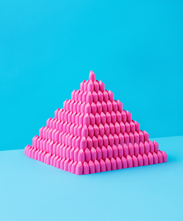 Pyramid Shape「Lipstick Pyramid」:スマホ壁紙(1)