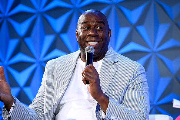 Magic Johnson「2019 BET Experience - Genius Talks Sponsored By Credit Karma - Day 2」:写真・画像(7)[壁紙.com]