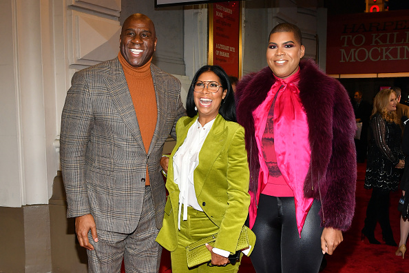 "Magic Johnson「Opening Night Of ""To Kill A Mocking Bird"" On Broadway」:写真・画像(6)[壁紙.com]"