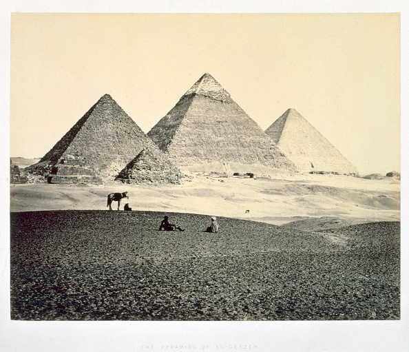 世界遺産「The Pyramids Of El-Geezeh From The South West' Egypt 1858」:写真・画像(17)[壁紙.com]