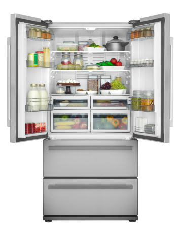 Freezer「Solid open refrigerator」:スマホ壁紙(5)