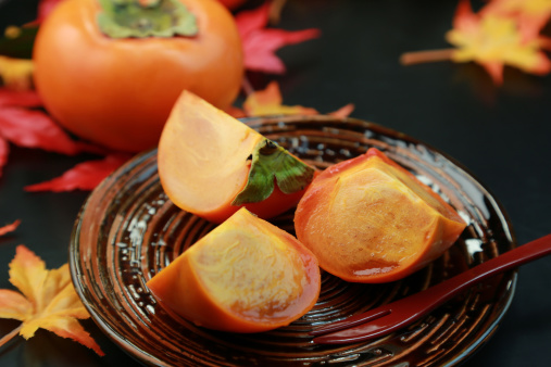 柿「Persimmon」:スマホ壁紙(15)