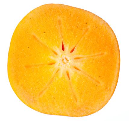柿「Persimmon (Diospyros kaki)」:スマホ壁紙(2)