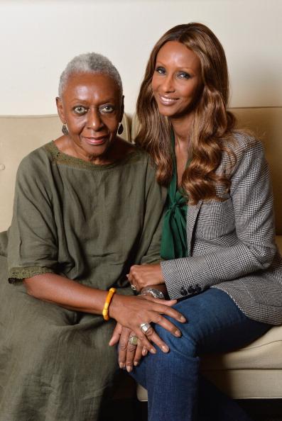 ファッションモデル「Iman & Bethann Haridson Portrait Shoot」:写真・画像(2)[壁紙.com]