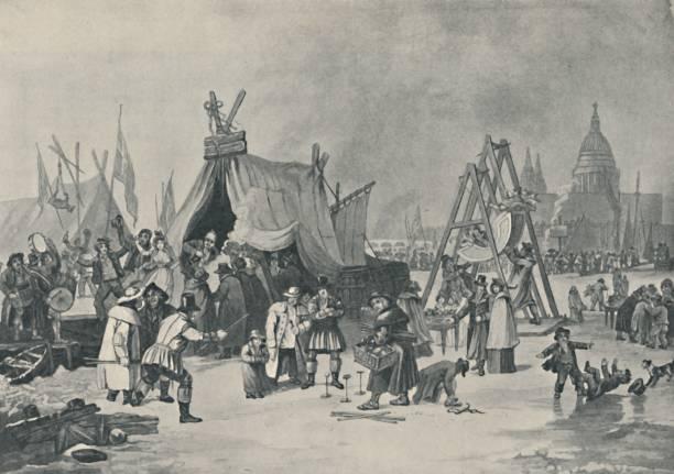 The Fair On The Frozen Thames:ニュース(壁紙.com)
