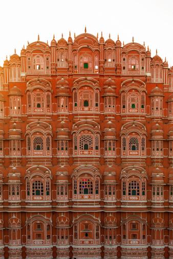 Rajasthan「Hawa Mahal Palace of the Winds Sunset」:スマホ壁紙(7)