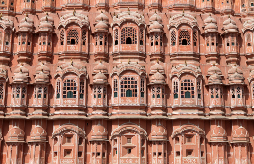 Indian Culture「Hawa Mahal India」:スマホ壁紙(7)