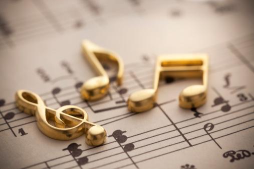 楽譜がおしゃれでかっこいい壁紙