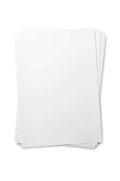 Blank paper sheet on white:スマホ壁紙(壁紙.com)