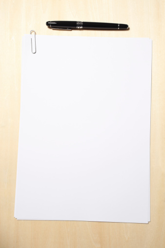 Writing - Activity「Blank Paper and Pen」:スマホ壁紙(9)
