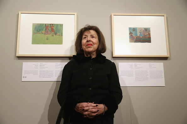 Painted Image「100 Drawings From The Holocaust Exhibition Opening」:写真・画像(11)[壁紙.com]