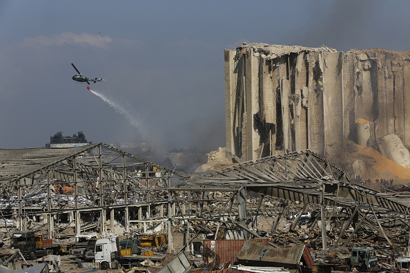 Exploding「Beirut Treats Wounded And Seeks Answers After Deadly Blast」:写真・画像(10)[壁紙.com]